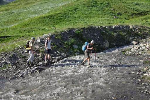 Se méfier des petits ruisseaux qui paraissaient bien sympathiques !