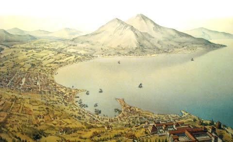 Neapolis vista dall'alto