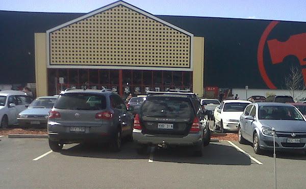 parking at bunnings