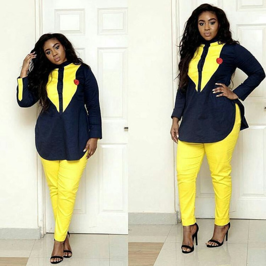 Stylish Ankara Trouser And Top Dresses For Ladies