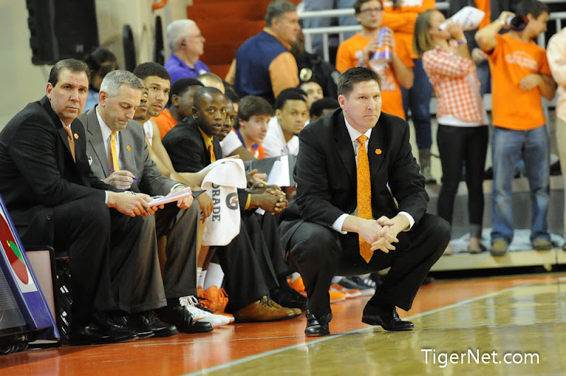 Clemson vs Boston College (Senior Night) Photos - 2013, Basketball, Boston College, Brad Brownell