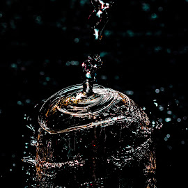 Water light by Adriaan Vlok - Abstract Water Drops & Splashes ( water, water drops, splash, water splash )