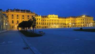 Schonbrunn at Night