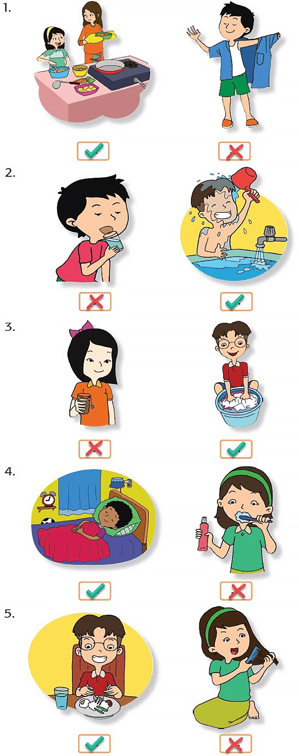 Kunci Jawaban Halaman 4, 5, 6, 9, 10 Tema 6 Kelas 3