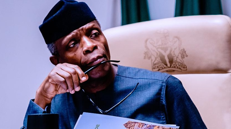 Soon, many'll be discouraged to stand against corruption – Osinbajo