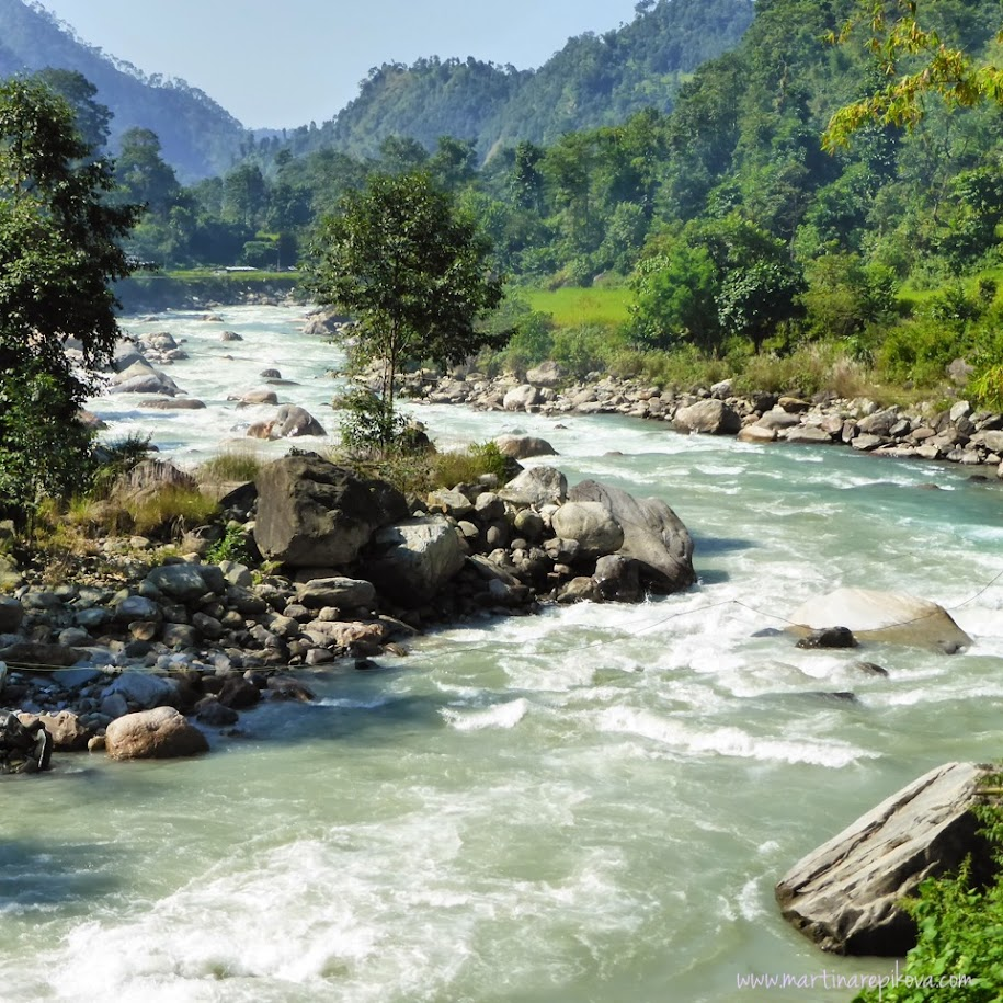 River in Himalayas, Nepal