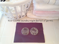 How germy is everyone's clean laundry?