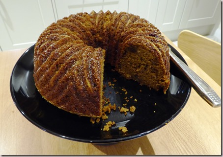 pumpkin and banana cake7