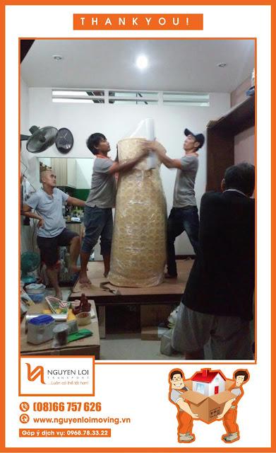 Cuốn drap nệm khi chuyển nhà tại Phú Nhuận