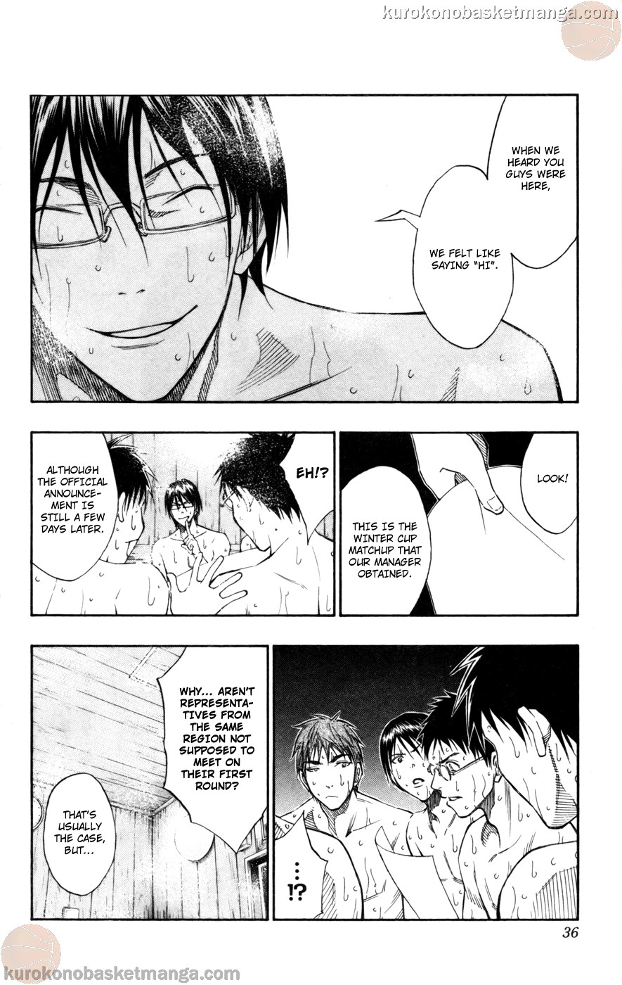 Kuroko no Basket Manga Chapter 110 - Image 10