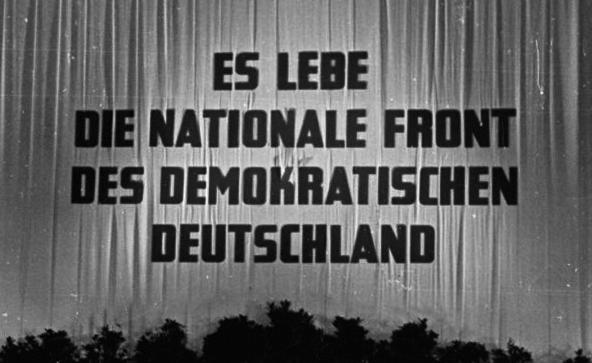Es lebe die Nationale Front des demokratischen Deutschland