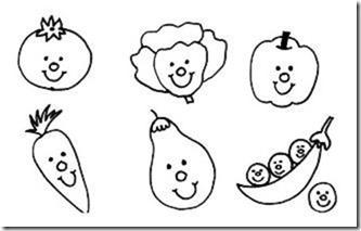 verduras con cara