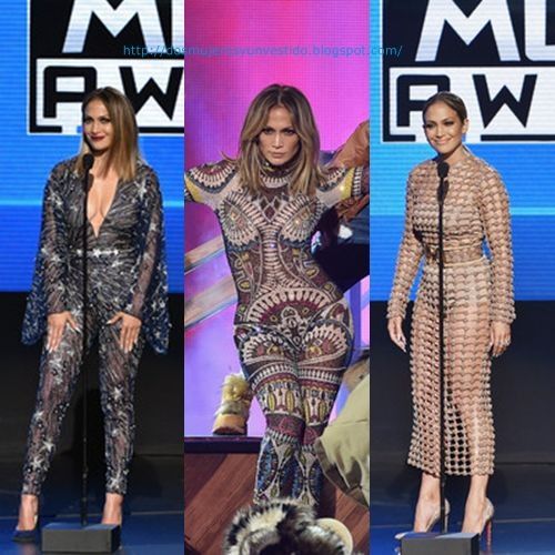 Jennifer Lopez 2015 American Music Awards2