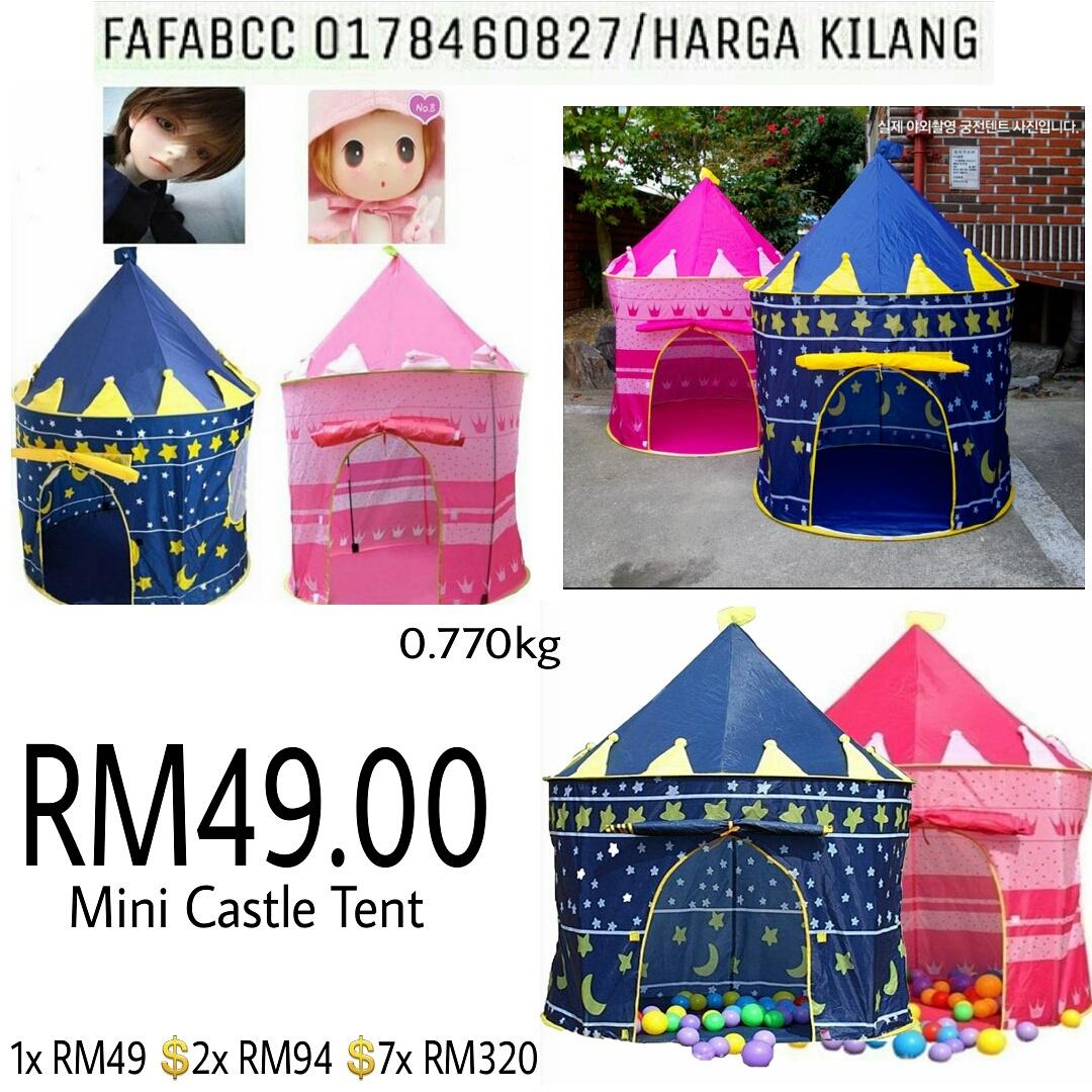 Terima kasih masih bersama kami malaysiasaveshop  sc 1 st  malaysia save shop & MALAYSIA SAVE SHOP (JUAL BORONG MURAH MALAYSIA): Mini Castle Tent ...