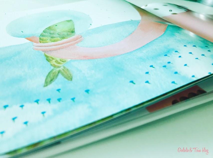 La huella, álbum ilustrado de Bookolia