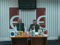 Іван Лучук модерував зустріч із Юрієм Садловським на Форумі перекладачів у Львові