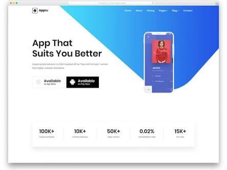 Download Template Bootstrap Landing Page Untuk Produk Jualan