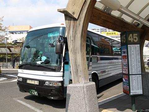 十和田観光電鉄「うみねこ号」 ・685 仙台駅東口到着