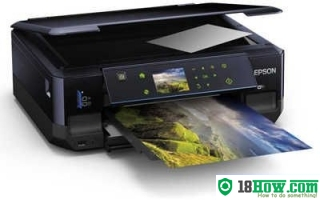 How to Reset Epson XP-510 flashing lights error