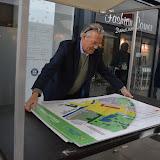Ideeënmarkt in de Helling over nieuw in te richten centrum Oude Pekela - Foto's Heidi Eissens