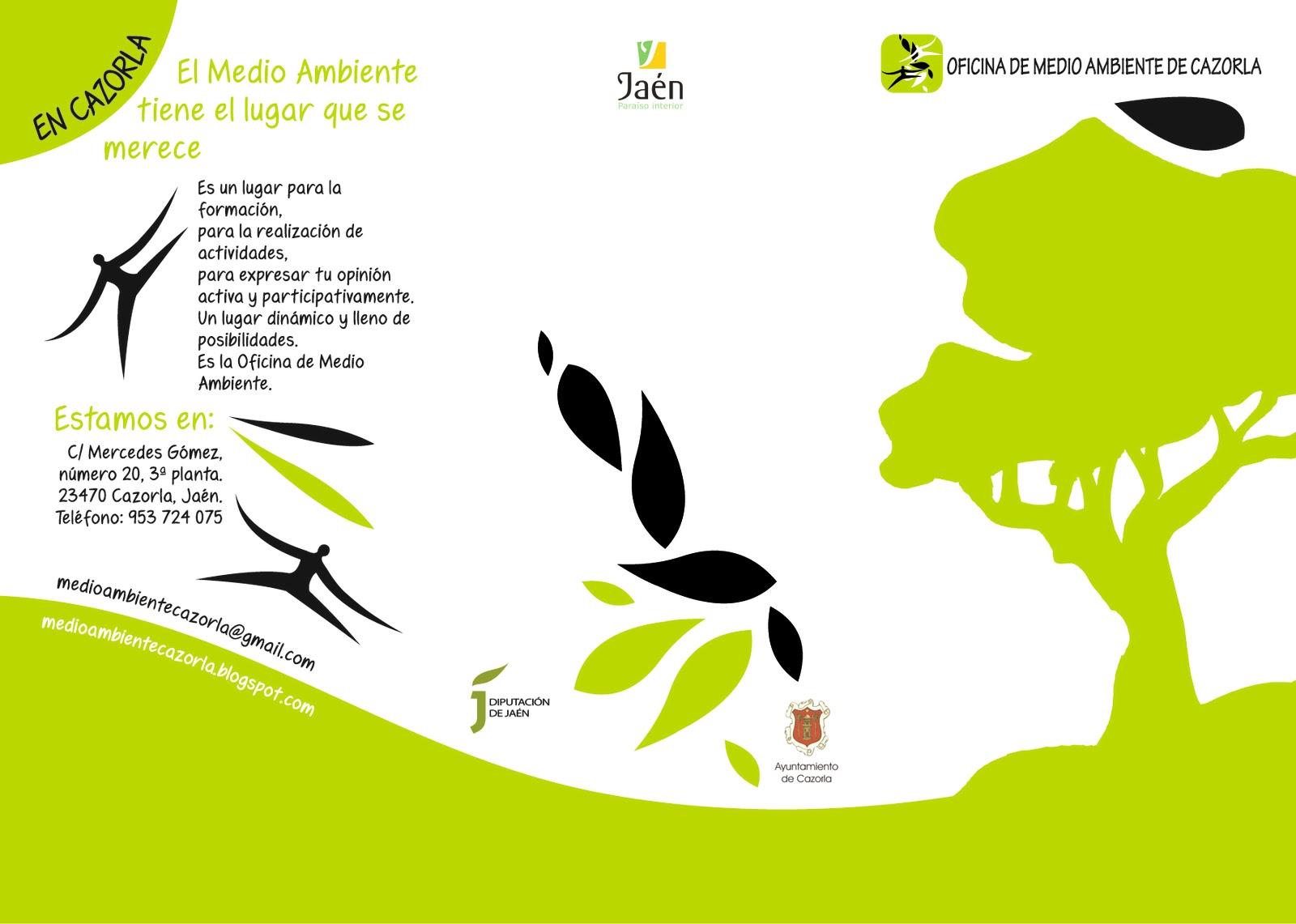 Bolet n de la oficina de medio ambiente de cazorla marzo 2011 for Oficina de medio ambiente