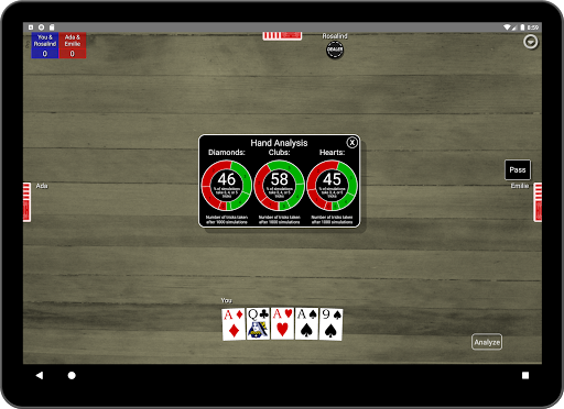 Euchre Card Classic 1.1 screenshots 14
