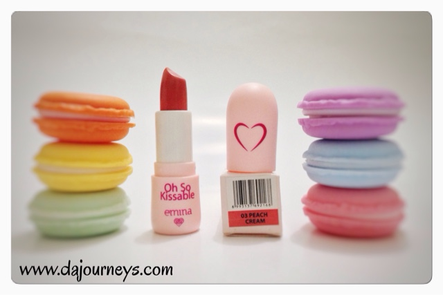 Review Emina Cosmetics Oh So Kissable Lipstick