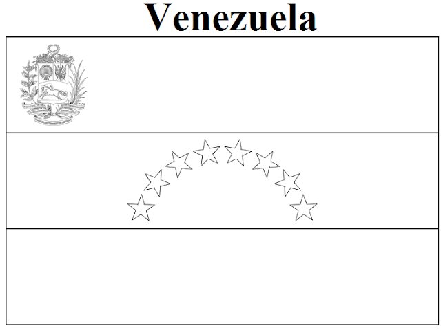 venezuela flag coloring page - geography blog venezuela flag coloring page
