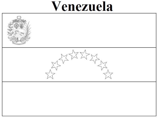 venezuela coloring pages - photo#14