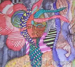 मालती शर्मा की कलाकृति