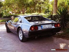 Grey Ferrari 208