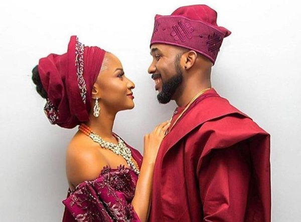 Banky W, Adesua Etomi's Traditional Wedding Holds In Lagos (Photos)
