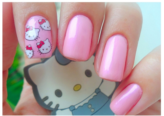 Modern Kitty Nail Art 2017
