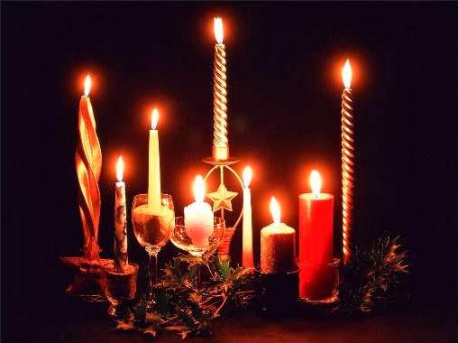 Sfondi di Natale candele