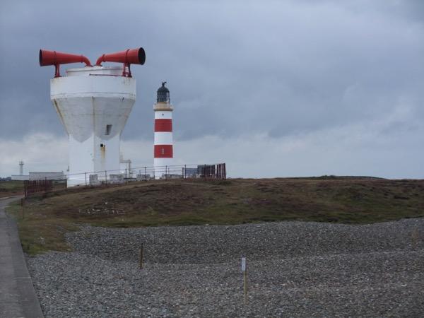 Fog Horn and Lighthouse
