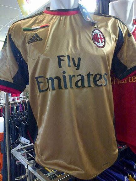 Jual Jersey AC Milan 2014 Gold