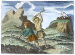 From Der Hermetische Philosophus Oder Haupt Schlussel Frankfurt 1709, Alchemical And Hermetic Emblems 2