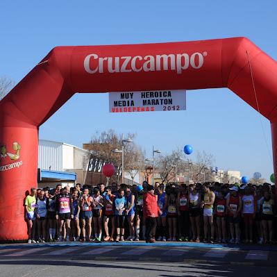 XVII Media Maratón de Valdepeñas - Carrera