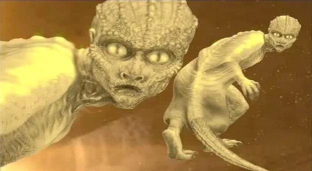 Top 10 provas de répteis Extraterrestres entre nós 07