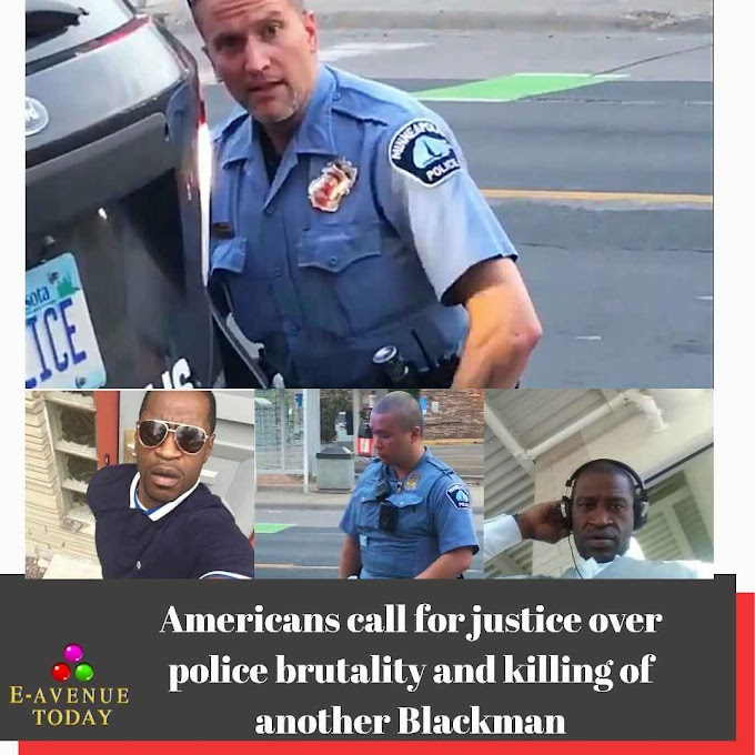 Americans call for justice over police brutality and killing of another Blackman