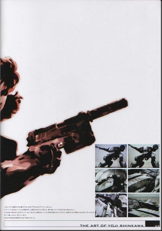The Art of Yoji Shinkawa 1 - Metal Gear Solid, Metal Gear Solid 3, Metal Gear Solid 4, Peace Walker_802479-0006