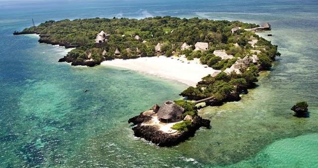 Férias na Ilha Chale, Férias no Quénia