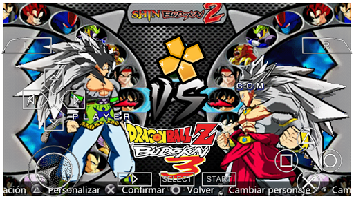 SAIUU! Novo Dragon Ball AF Budokai 3 PS2 MOD Dbz Shin Budokai 2 Para ANDROID (PPSSPP)