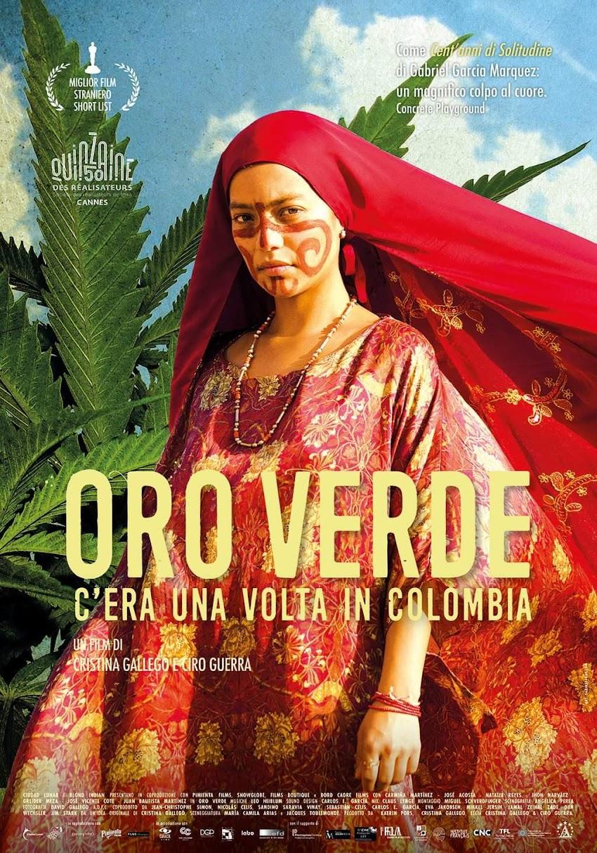 OroVerde - C'era una volta in Colombia, dall'11 aprile al cinema.