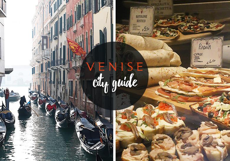 Venise city guide.