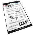 Be the Good Sentiments Stamps