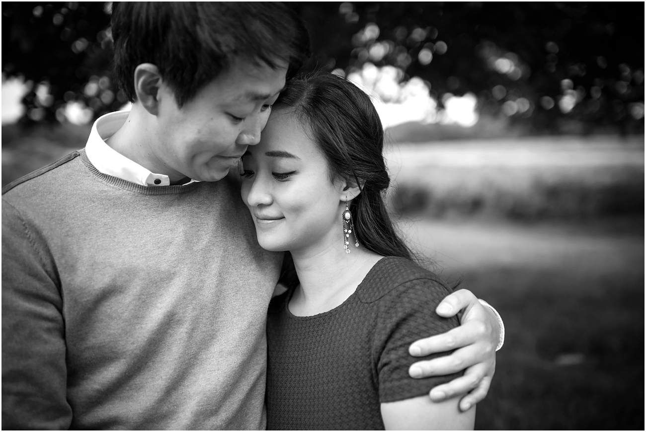 Richmond Park Surrey engagement photography