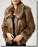 Warehouse Faux Fur Jacket