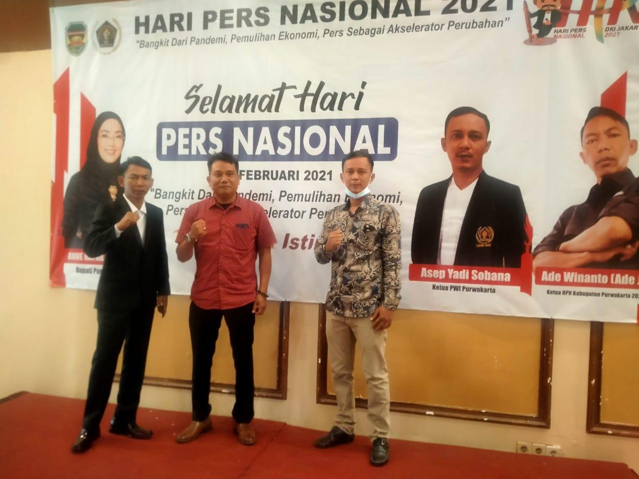 Ketua IWO Kabupaten Purwakarta Apresiasi Atas Terselenggaranya Acara HPN 2021