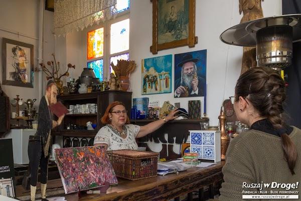 Krystyna Szter - przybliżyła nam historię synagogi w Barczewie